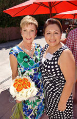 Clarisse Ringwald with Joanne Holland, Executive Director of Women of Scottsdale