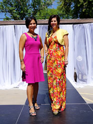 Tisha Pelletier and Gwen Tautimez, principals of Details Event Management, event planners of show